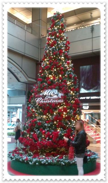 天王寺MIOクリスマスツリー