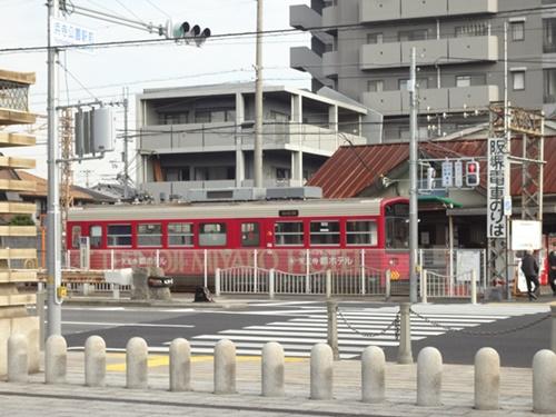 阪堺電車乗り場