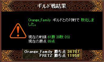 オレンジ戦結果
