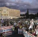 ギリシャ反政府デモ