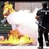 ギリシャ抗議デモ自殺