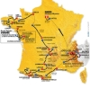 ツール・ド・フランス2011コースMAP