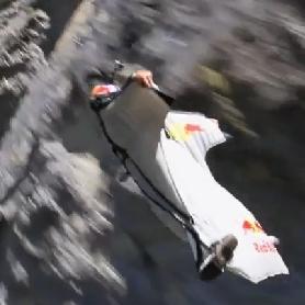 ウィングスーツ飛行