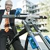 無線ブレーキ搭載自転車
