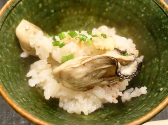 牡蠣御飯1