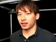ゲイ動画:ケツ舐めはディナーの前に !! 今ドキイケメン男子編