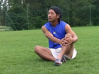 ゲイ動画:20歳のカラダ がっつり太マラ体育会ラグビー部 !!