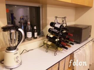 キッチン紅い水~♪(笑)