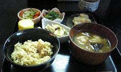 菜食ランチ