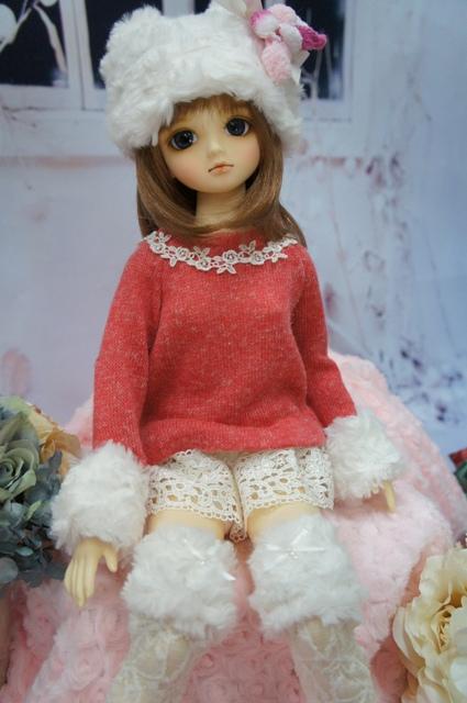 SDドレス・・冬のお部屋でくつろぎドレス