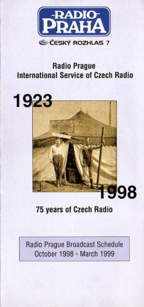 RADIO PRAHA 1923-1998 75 years of Czech Radio