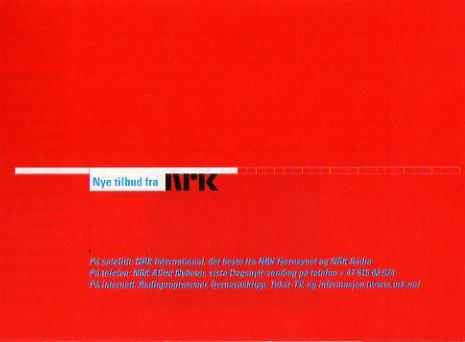 NRK 29.mars til 24.oktober Vår og sommer 1998