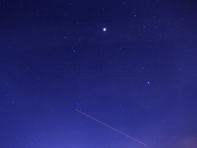 P1079141木星の下の航跡