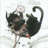 黒猫型宇宙人 666歳