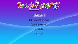 BreakOut4PSP v0.8