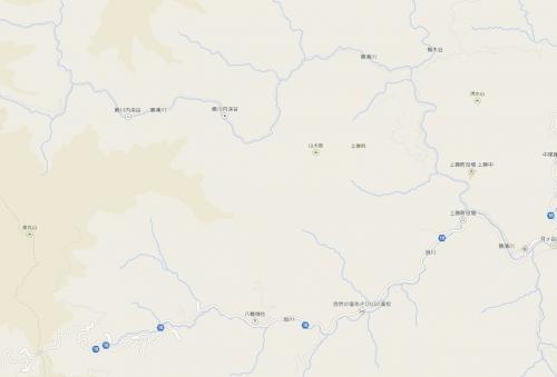 殿川内渓谷
