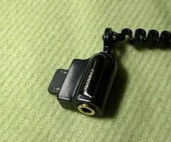 以前使っていた平型ジャック変換プラグ