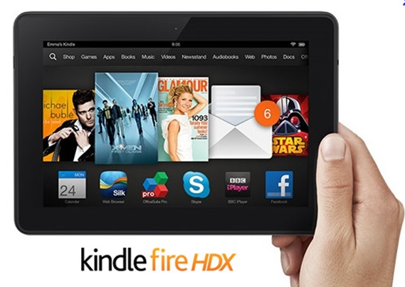 kindle fire HDX キンドル kobo arc 7HD