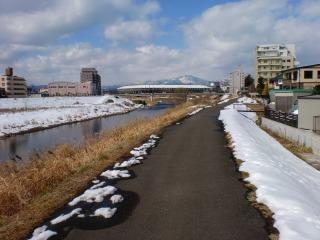 2014年02月23日 石留神社・堤防