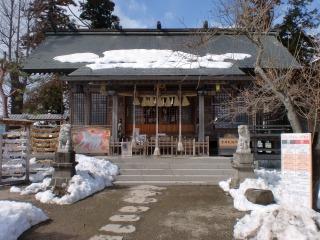 2014年02月23日 二柱神社・社殿