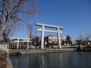 2014年03月07日 息栖神社・一の鳥居2
