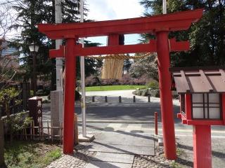 2014年04月05日 瀧澤神社・鳥居2