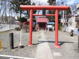 2014年04月06日 八木山神社・鳥居