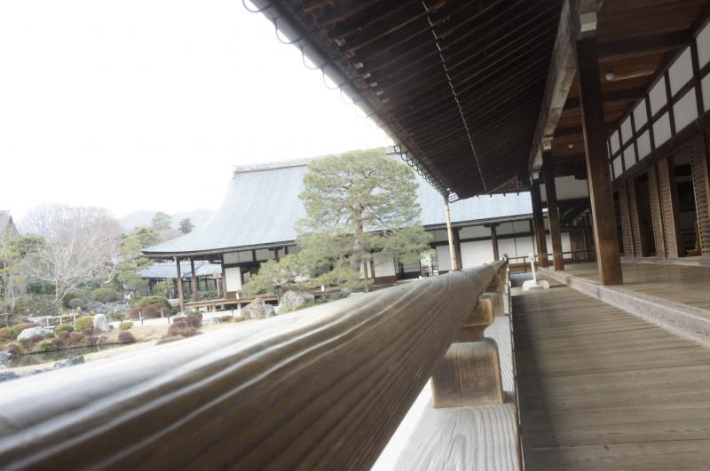 天龍寺縁側