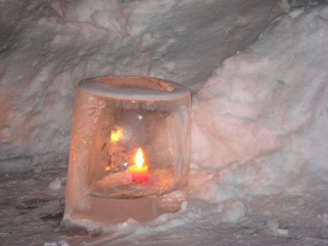 雪灯り 038