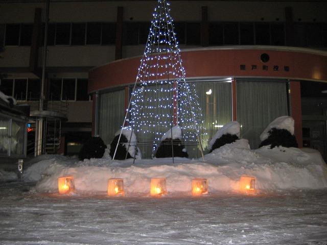 雪灯り 033