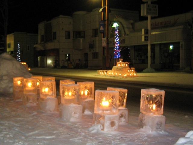 雪灯り 031