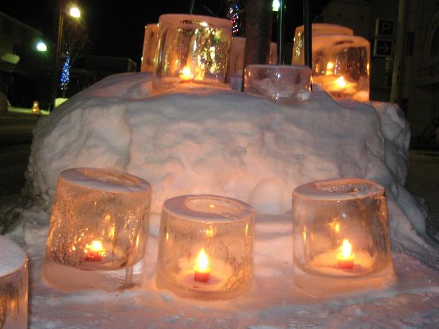 雪灯り 015