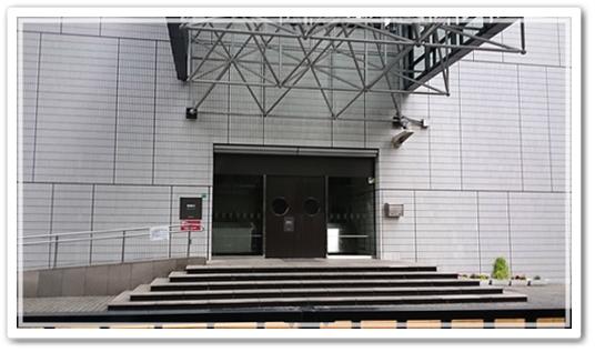 東京芸劇周辺 楽屋口