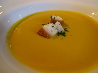 かぼちゃのスープ!めっちゃ美味しい!