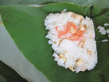 朴葉寿司!