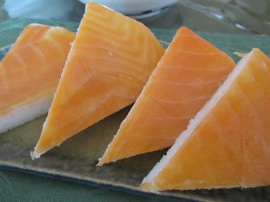 鱒寿司(≧▽≦)♪