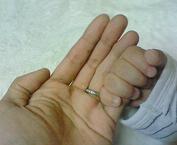 20101030晃太郎7ヶ月