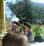 20101111保育園焼き芋