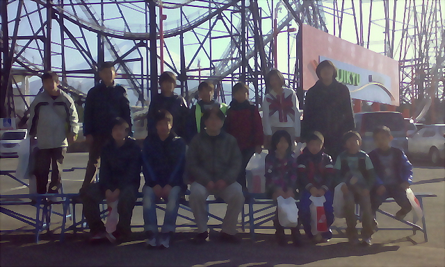 20120327 Fuji-Q 水彩画加工