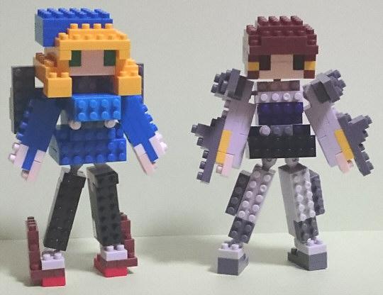 ナノブロック艦娘「愛宕」&「妙高」