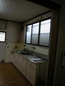現場写真 248縮小施工前キッチン