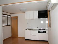 現場写真 246縮小施工後キッチン