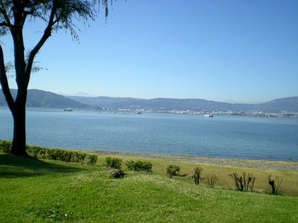 諏訪湖(上諏訪)  (4)