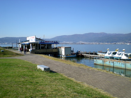 諏訪湖(上諏訪)  (18)