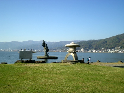 諏訪湖(上諏訪)  (52)