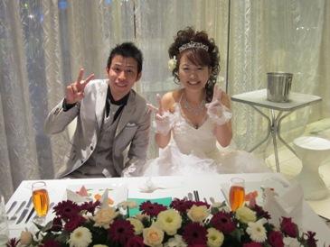 10月結婚式