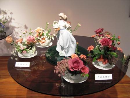 2010小原流花展 コーヒーカップ2