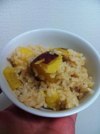 サツマイモご飯2