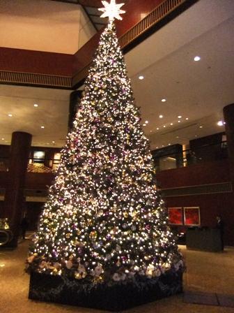東京さくさく_ANAインターコンチネンタルホテルのツリー