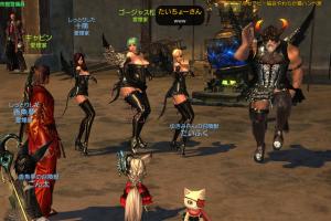 松子がダンス!